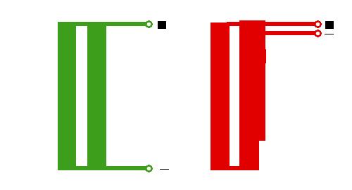 Ток в двух параллельных проводниках